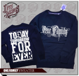 One Family - Pullover navy