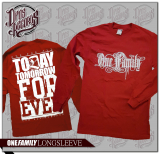 One Family - Longsleeve rot