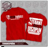 Terrorsphära - Stärke durch Disziplin - Shirt rot