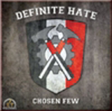 Definite Hate - Chosen few - HSN COVER -  (rot + schwarz)