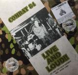Combat 84 - Live & loud 1982 - LP