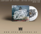 Confident of Victory - Mitten im Widerstand - Mini CD (OPOS CD 150)