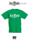 Eine Familie - Kinder Shirt grün