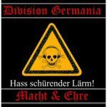 Hass schürender Lärm 1 - Division Germania + Macht & Ehre - Picture LP
