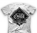 One Million Lies - Tragic disaster - Shirt weiß